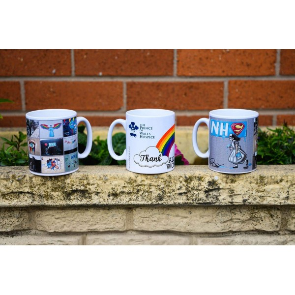 2 x The Prince of Wales Hospice Mugs (inc £5 delivery)