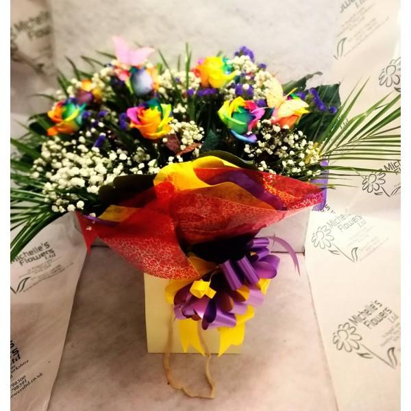 Rainbow Love Bouquet