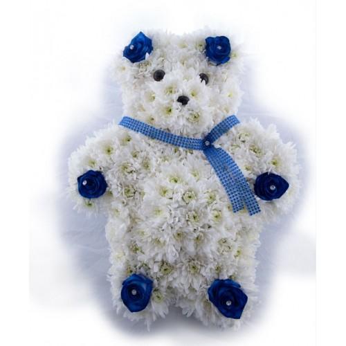 Floral Teddy Bear Tribute