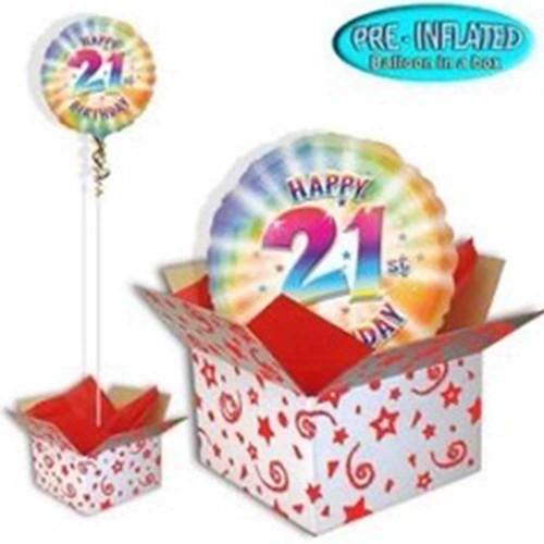 Foil Balloon In A Box